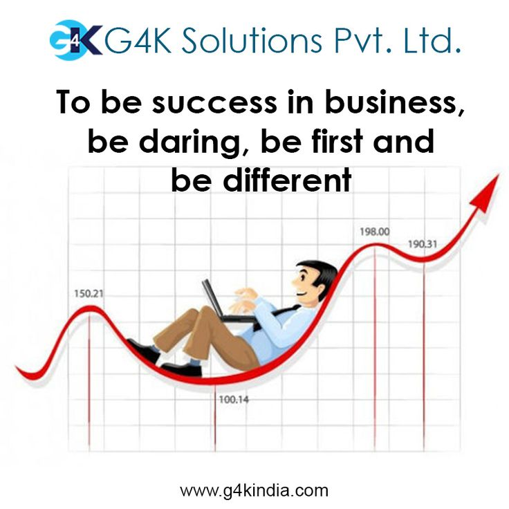 To be success in business, be daring, be first and be different  Platform to grow your business. Our platform, your business.  http://www.g4kindia.com  #business #automation #b2b #b2c