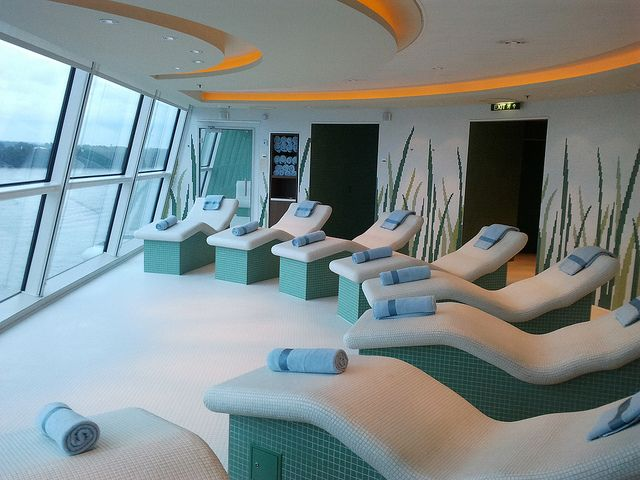 Luxury Experience - AquaSpa by Elemis on the Celebrity ...