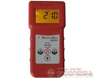 Inductive Moisture Meter type MS310 ini adalah salah satu mc tester menggunakan sensor induktif sehingga tanpa melukai object yang akan diukur