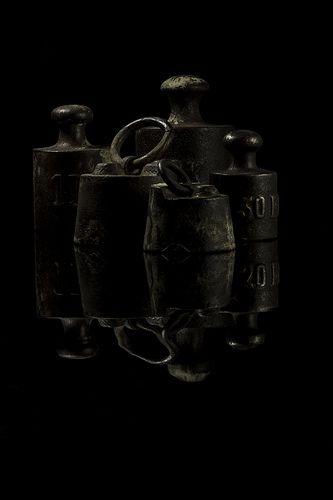 antique weights
