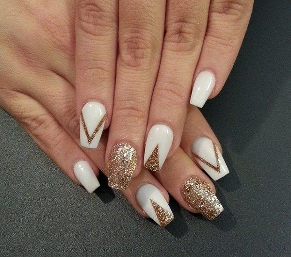 stand out of the crowd with beautiful nail art decorated with glitter powder everyone wants to look as good as they can