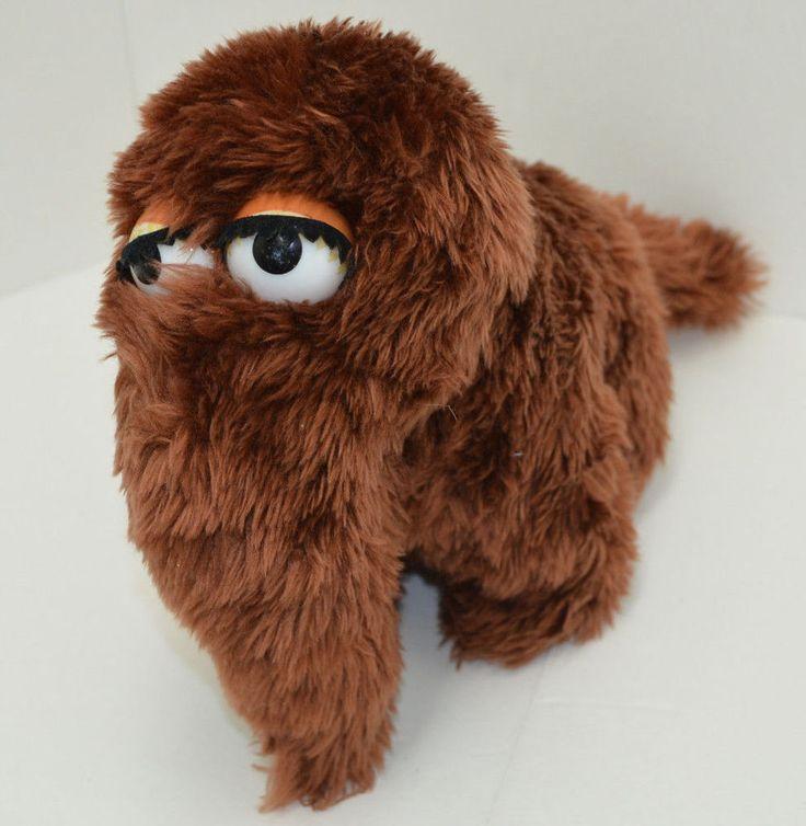 Vintage Applause Muppets Snuffleupagus Plush 14003 Brown
