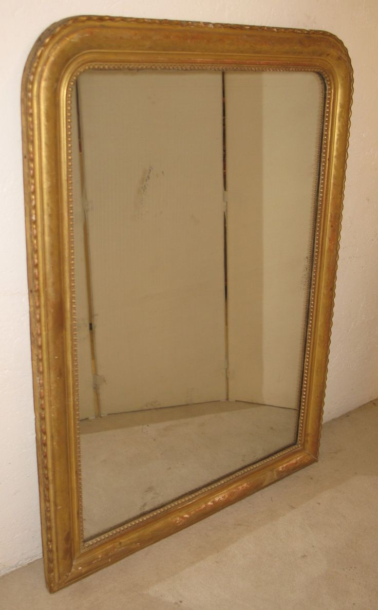 Les 12 meilleures images du tableau miroirs ancien sur for Grand miroir cadre bois