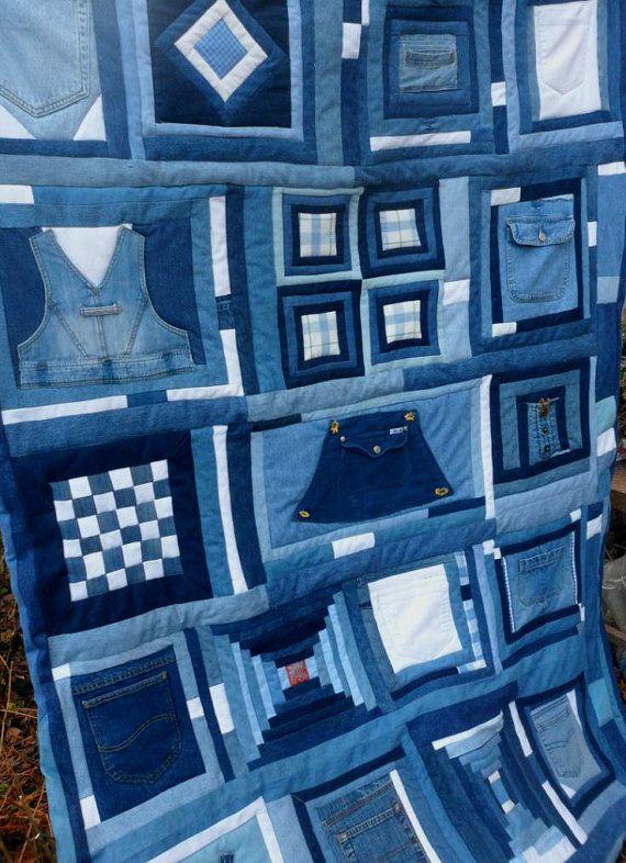 Blue Jean Quilt Patchwork Sampler