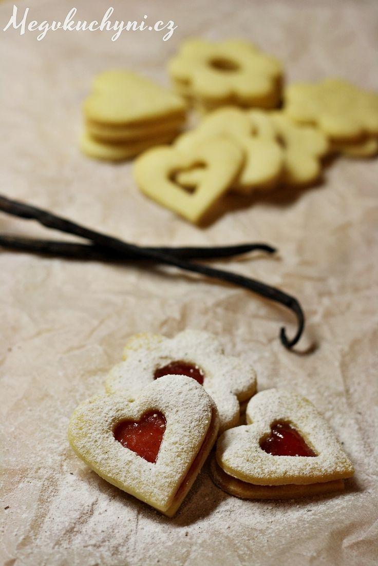 Linecké cukroví s vanilkou - klasika