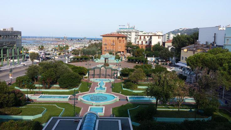 Uitzicht vanuit Hotel San Marco Cattolica