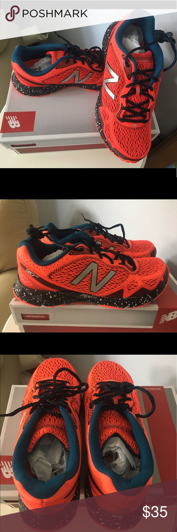 New Balance trail run sneakers New Balance men's trail running sneakers. Brand-new in box with tags and has never been worn! New Balance Shoes Sneakers