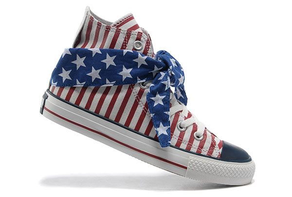Atpdue.it * 2016 Converse All Star American Flag Rosso Blu Foulard Sciarpa Stripes High Tops converse pro leather converse chuck taylor shop