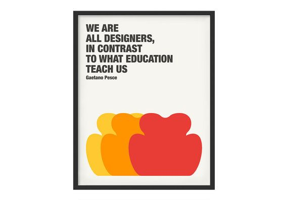 Design poster available on etsy, Gaetano Pesce subject: www.etsy.com/it/shop/Laboratoriografico