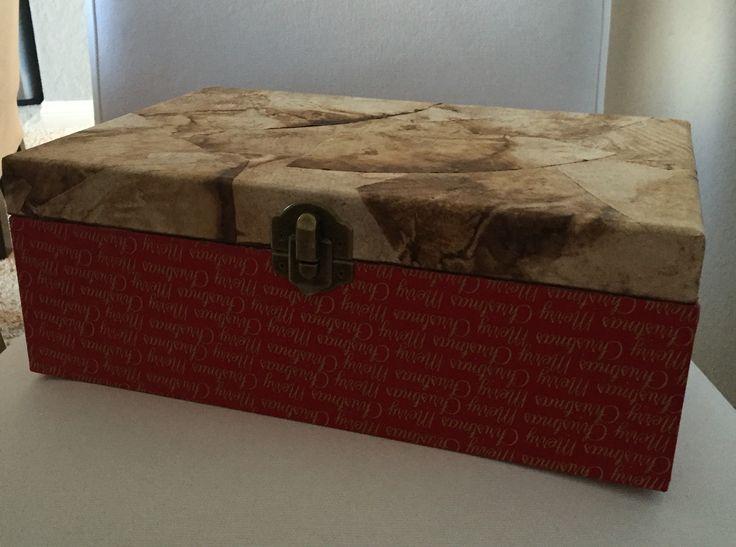 Decorative box christmas artsinbox
