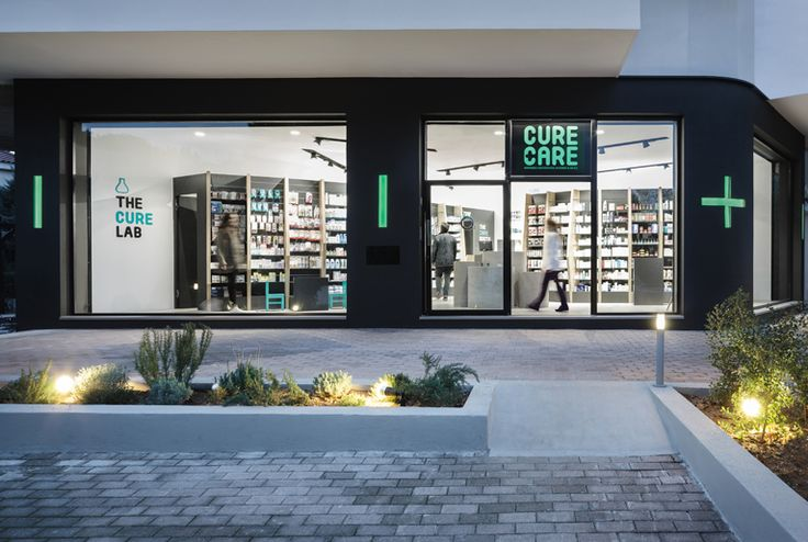 Cure + Care Pharmacy | Indoor and Outdoor Signage Design