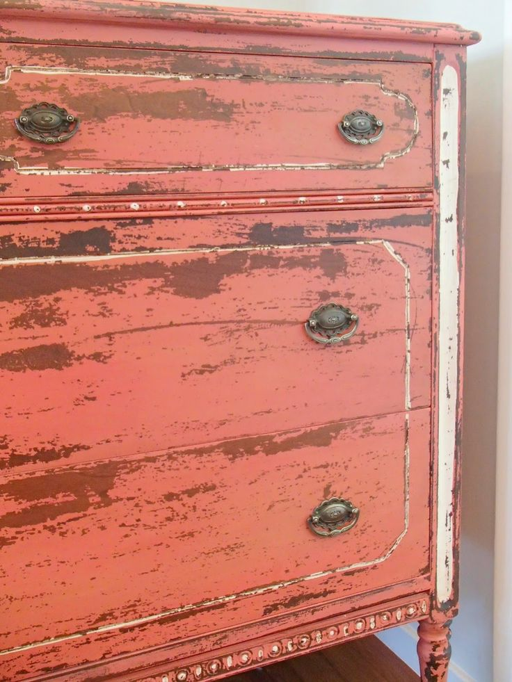 Find This Pin And More On Distressed Furniture.