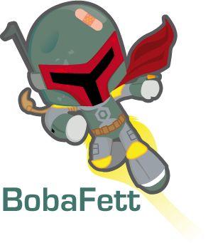 """BOBA FETT    Boba Fett es un personaje que aparece en los episodios II, IV, V y VI de la saga """"La Guerra de las Galaxias"""" o """"Star Wars"""".  ..."""
