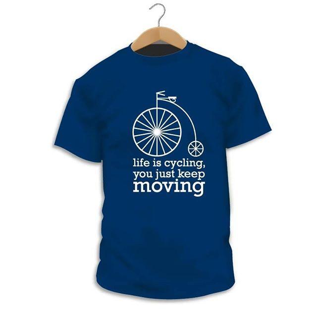 """Has visto nuestro diseño """"Cycling""""? http://ift.tt/2BtrWD0  Pedalea para llegar a la meta  #Camiseta #CamaradaCamisetista #Design #Diseño #ShopOnline #Shopping"""