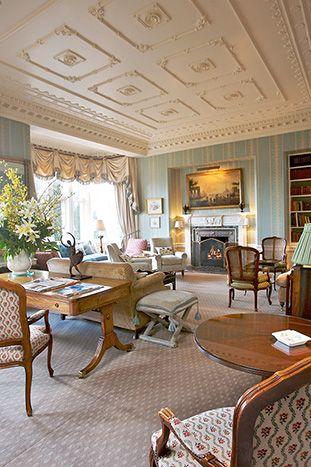 Hambleton Hall. A hotel and restaurant in the heart of the Midlandson a lake. United Kingdom, Oakham - Rutland #RelaisChateaux #UnitedKingdom #Victorian #wellbeing