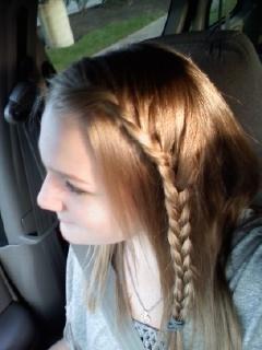 one sided braid