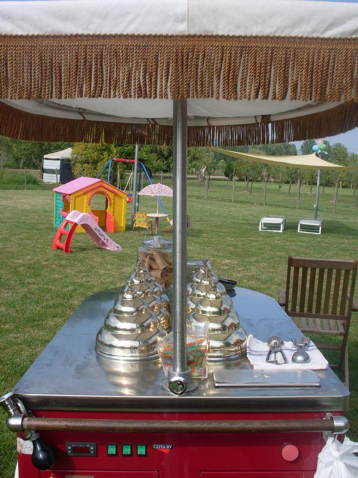 Foto Gallery Il Carrettino dei Gelati di Girolami Fabio Tel. 377/2182624 Il Carrettino dei Gelati il nuovo modo antico di riscoprire il gela...