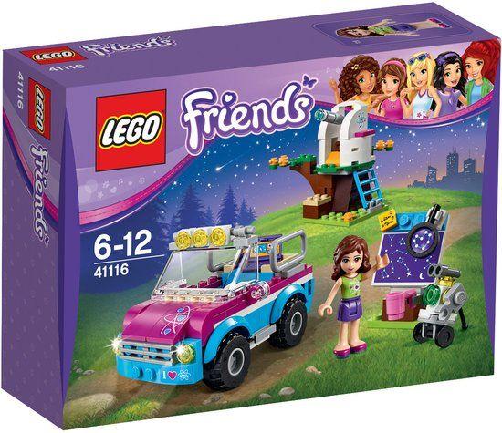 LEGO Friends Olivia's Onderzoeksvoertuig - 41116