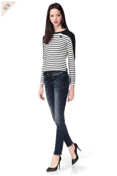 Jean regular denim Midge Bleu G-star prix Jeans Femme G-star Monshowroom 149,00 €