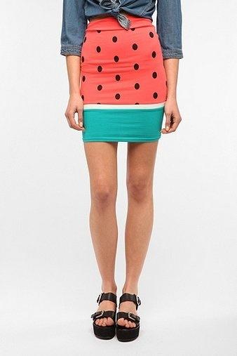 UrbanOutfitters.com > Reverse Watermelon Skirt $59