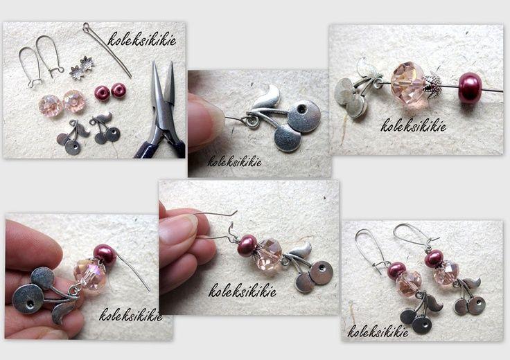 Membuat Anting Manik-Manik PIN : 31374c67  WA : 0888.0307.2644  FP : Accessories Koleksikikie  twitter : @koleksikikie2