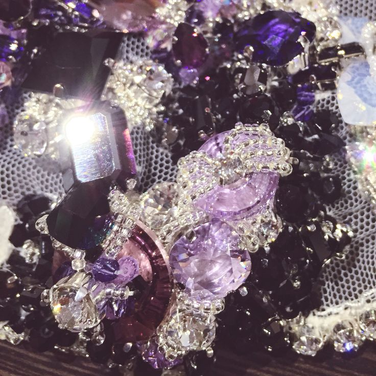 With the excitement of announcing that Nomiki Glynatsis Couture will be showcasing at @bridalfashionweekaustralia 2016 here is a little glimpse of the intricate details coming together for the enchanting new couture bridal and jewellery collection which will be revealed at the event. Each piece delicately hand crafted using @swarovski crystals... #nomikiglynatsiscouture #ngc #couture #jewellery #bridal #abfw #redcarpet #exclusive #editorial #coutureweddings #swarovski #handmade #intricate