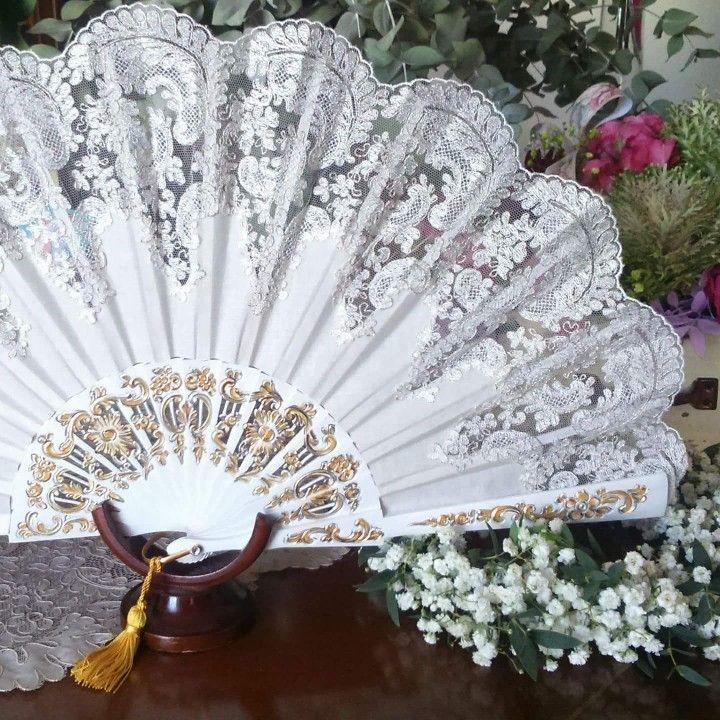 Abanico personalizado para novia Bodas y ceremonias Chantilly