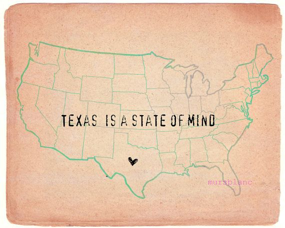 Other staters just don't get Texas love.