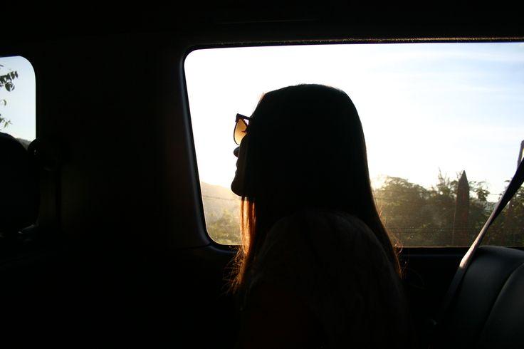 sunset girl by sebastian moreno