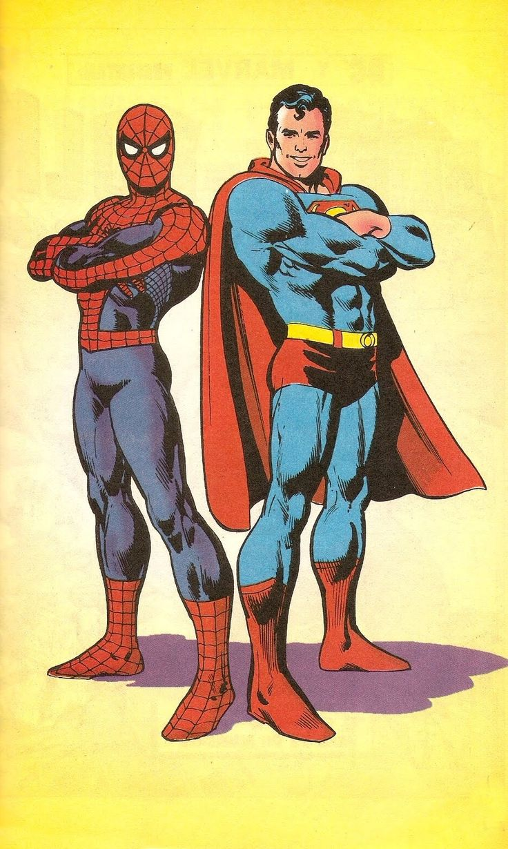 Spider-Man and Superman by Ross Andru.