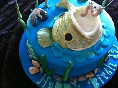 Fisherman's Cake By AngelCakes_Bakery on CakeCentral.com