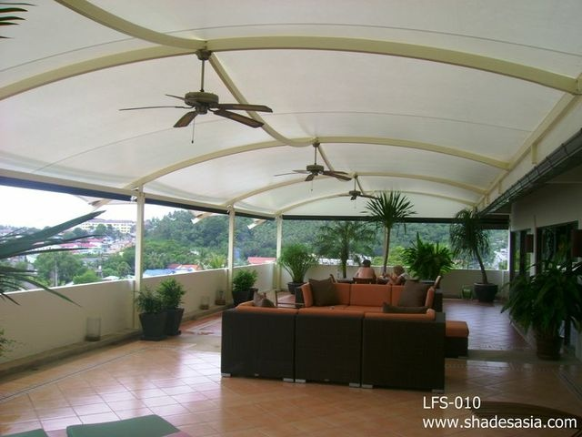 Another installation from Shades Thailand Ltd. We design, manufacture and ship worldwide. www.shadesasia.com