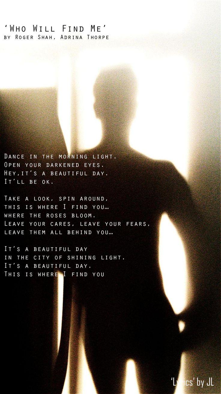 Roger Shah – Back To You (feat. Adrina Thorpe) Lyrics ...