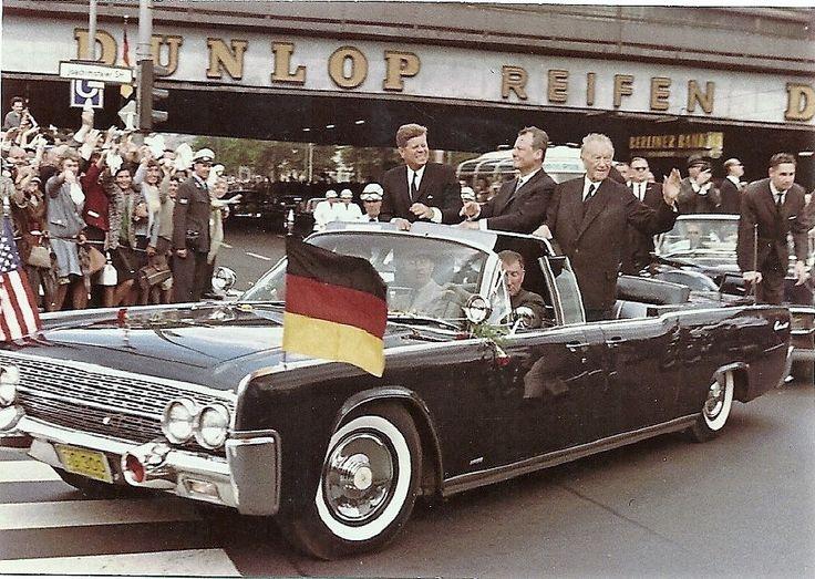 https://flic.kr/p/RWQtFv | Kennedy-Berlin Besuch Juni 1963