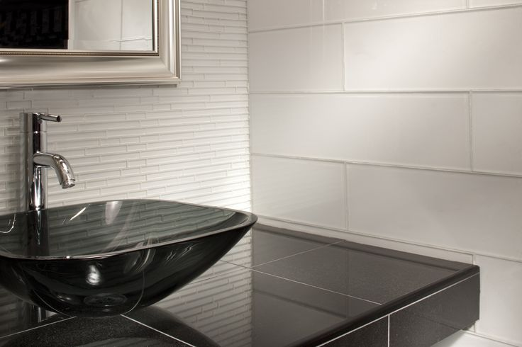 17 Best Images About Glass Tile On Pinterest Herringbone