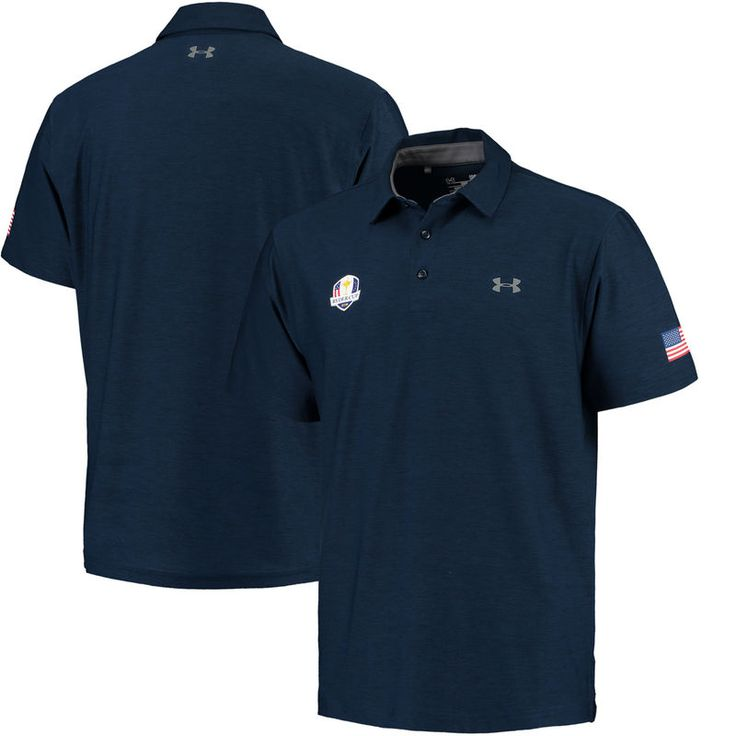 Under Armour 2016 Ryder Cup Playoff Performance Polo - Navy
