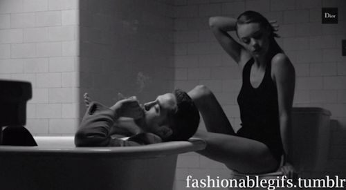 Our newest gif! We love Dior Homme Advert Follow our blog for more fashionable gifs!