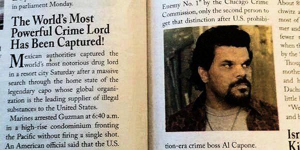 Luis Guzman = El Chapo