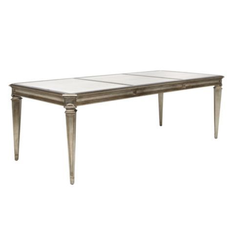Palais dining table from z gallerie queen 39 s castle for Z gallerie dining room table