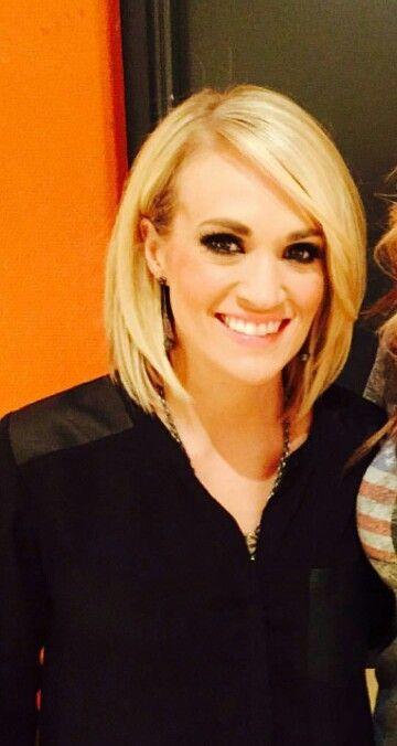2016 on Pinterest  Medium bob hair, Carrie underwood haircut and