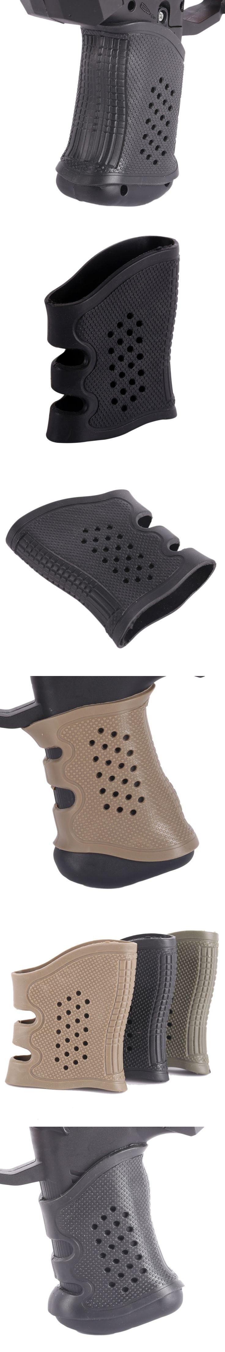 Tactical Gun Handle Rubber Handle Protective Case Tactical Holster Non-slip 3 colors