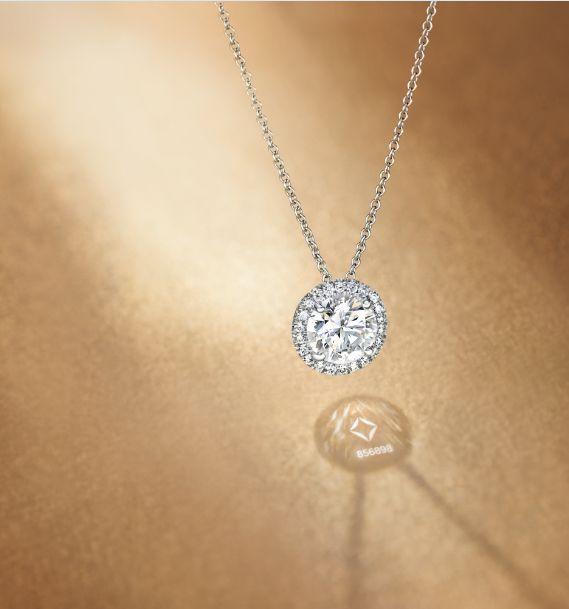 28 best diamond pendants images on pinterest diamond necklaces the center of my universe round halo pendant from forevermark aloadofball Choice Image