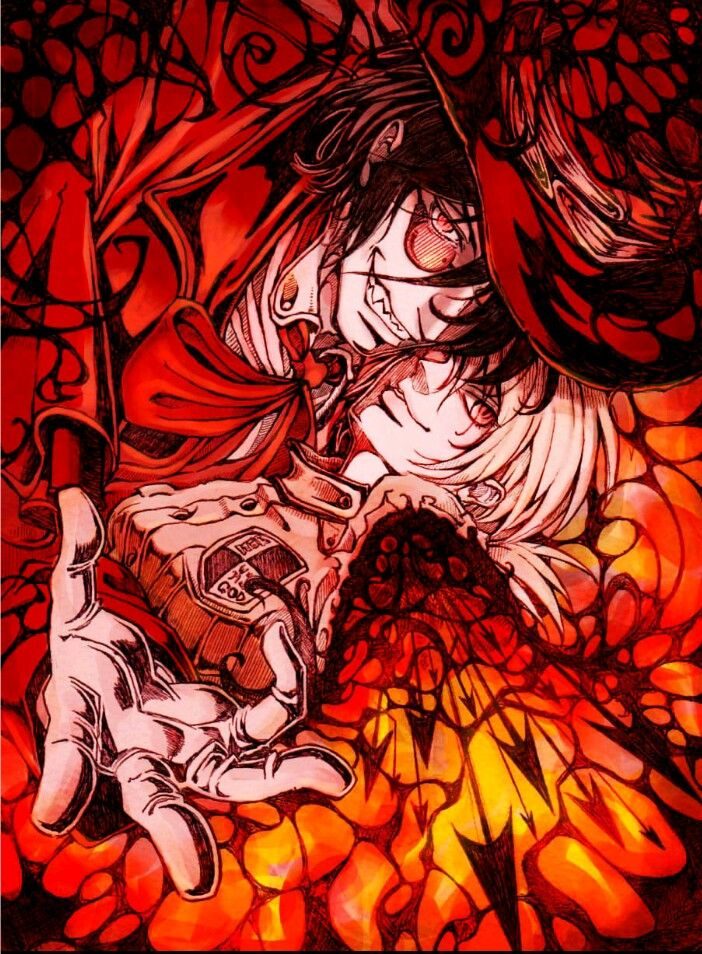 hellsing alucard and seras relationship