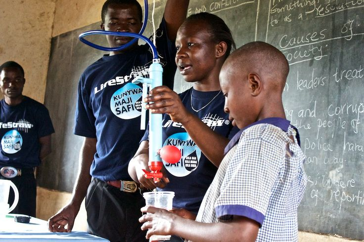 School based LifeStraw Family 1.0 training and water and sanitation health education- providing children with the tools and the knowledge to stay happy and healthy!