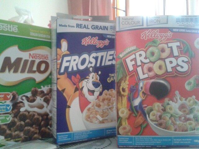 Favorite cereals