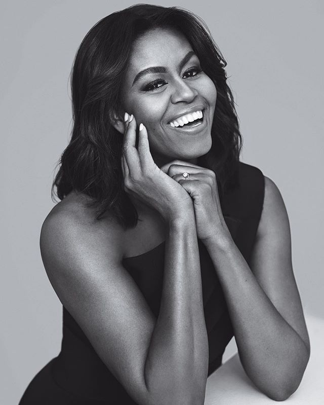 instyle cover: First Lady Michelle Obama #flotus