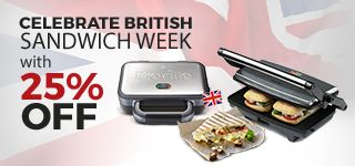 Breville - the original sandwich toaster maker, and still the best! Browse through our wide range of sandwich toasters and panini presses.