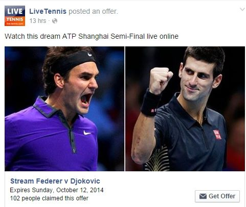 Watch this dream ATP Shanghai Semi-Final live online https://www.facebook.com/Live.Tennis/posts/855085897869537