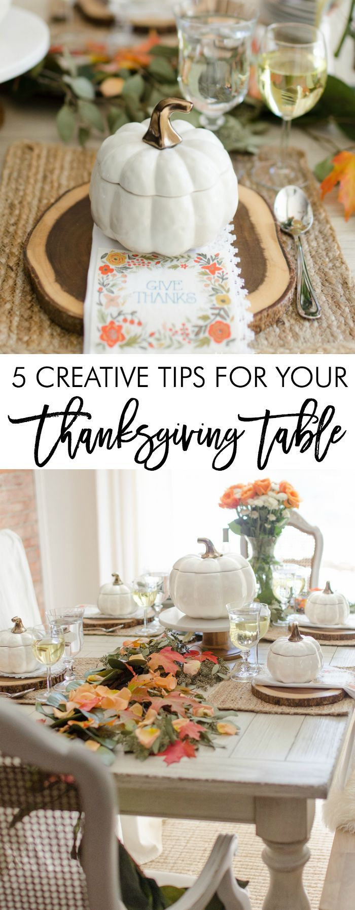 5 Thanksgiving table tips featuring sponsored products by Better Homes and Gardens at Walmart.