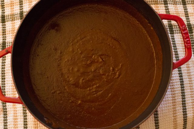 Oaxaca Black Mole Negro Recipe Dinner Party 03